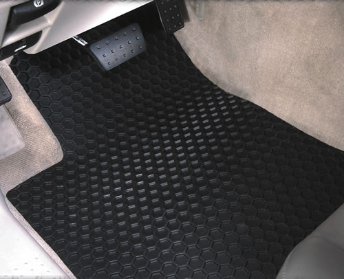 Intro-Tech Hexomat Floor Mats for Select Mitsubishi Diamante Models NS-651-RT-G