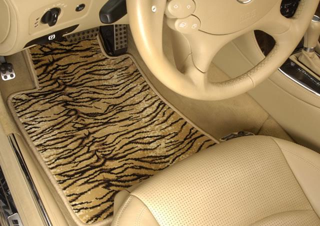 Safari Tiger Print Car Seat Covers Show Pictures
